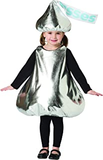 Child's Classic Hershey's Kiss Wrapper Chocolate Candy Costume
