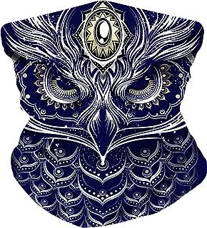 Electrik Unicorn Infinity Seamless Face Mask Bandana for Festivals, Raves, Dust - One Size