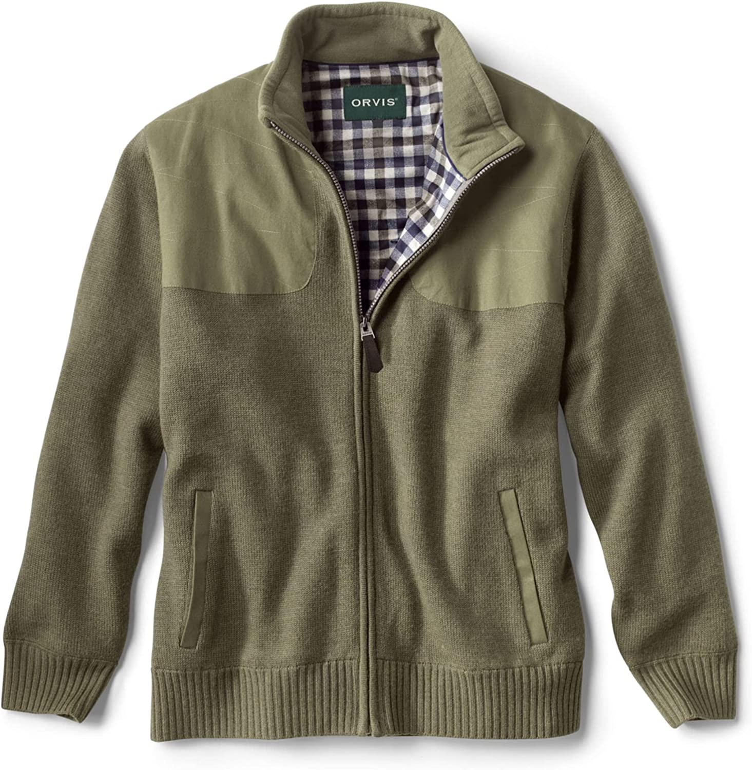 Orvis Men's Ultimate Foul Weather Sweater Olive