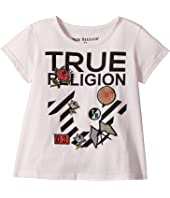 True Religion Kids - Stripe Horseshoe Tee Shirt (Toddler/Little Kids)