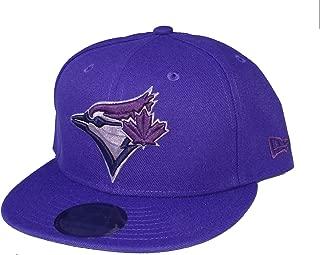 Toronto Blue Jays Snapback Adjustable One Size Fits Most Hat - Purple