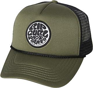Rip Curl Men's Wetty Badge Trucker Cap Nylon Green