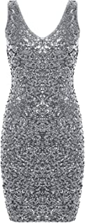 Best silver party dresses under $100 Reviews