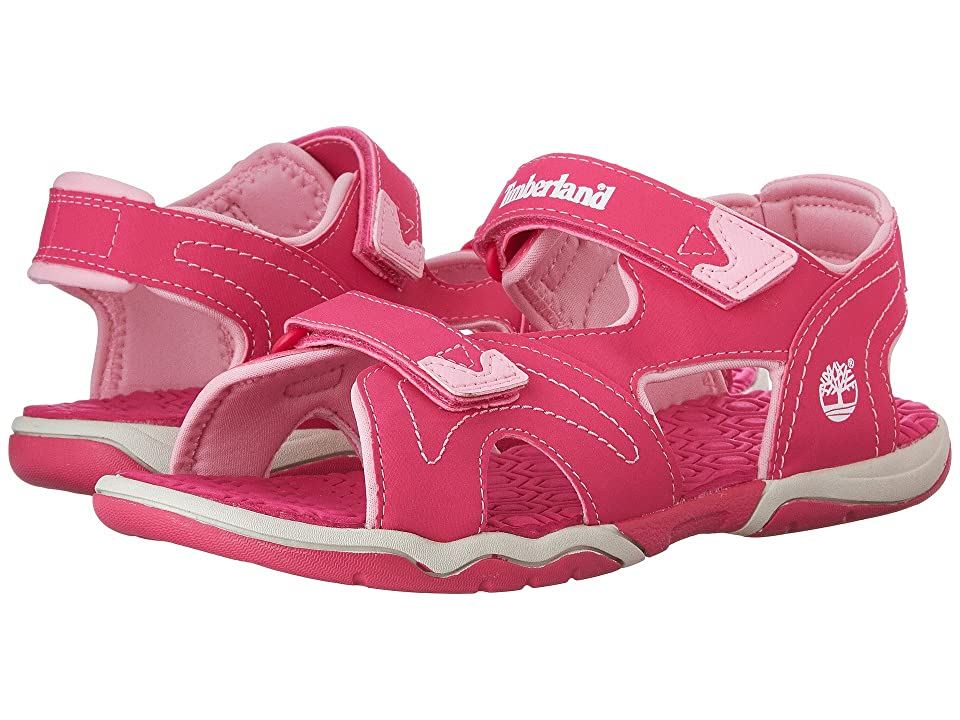 Timberland Kids Adventure Seeker 2 Strap Sandal (Big Kid) (Pink) Kids Shoes