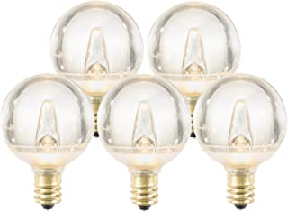 Pack of 3 Units E17 Bulb for Indoor Lighting 400LM 3000K Soft White Ceramics Light 40W Equivalent Non-Dimmable TGMold E17 Edison LED Bulb Light Mini E17 Base Ceiling Fan Bulb