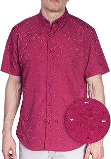 6a4d3532e7d Visive Original Printed Short Sleeve Button Down Shirt Size Small - 4XL Big  Mens