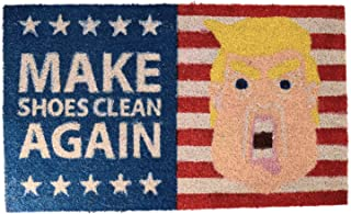 The President MAKE SHOES CLEAN AGAIN Door Mat