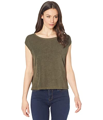 Lilla P Short Sleeve Terry Cloth Easy Top