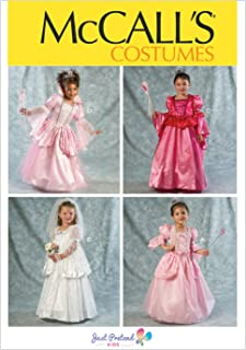 McCall Pattern Company M6897 Children's/Girls' Costumes Sewing Template, Size CL (6-7-8)