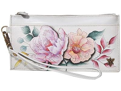Anuschka Handbags Organizer Credit Card Wristlet Wallet 1151 (Bel Fiori) Bags