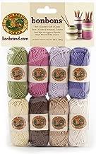 Lion Brand Bonbons Ovillo de lana, Natural, 8 x 28 yd/26 m, 1