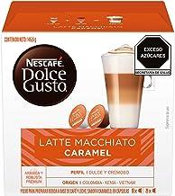 Nescafe  Dolce Gusto Coffee Capsules, Caramel Latte Macchiato 48 Single Serve Pods, (Makes 24 Specialty Cups) 48 Count