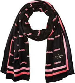 Kate Spade New York - Hot Rod Oblong Scarf