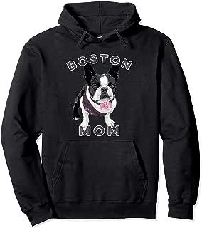 Boston Terrier Mom Hoodie for Women Men, Dog Pet Moms
