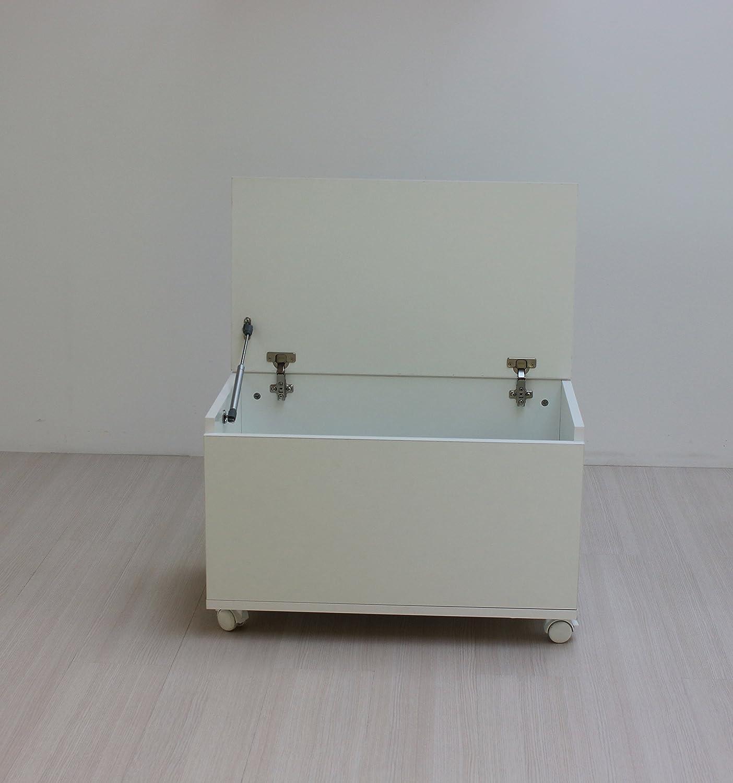 ventas al por mayor Blasi Bed ABJMB - - - Baúl juguetero, Color blancoo  Precio por piso