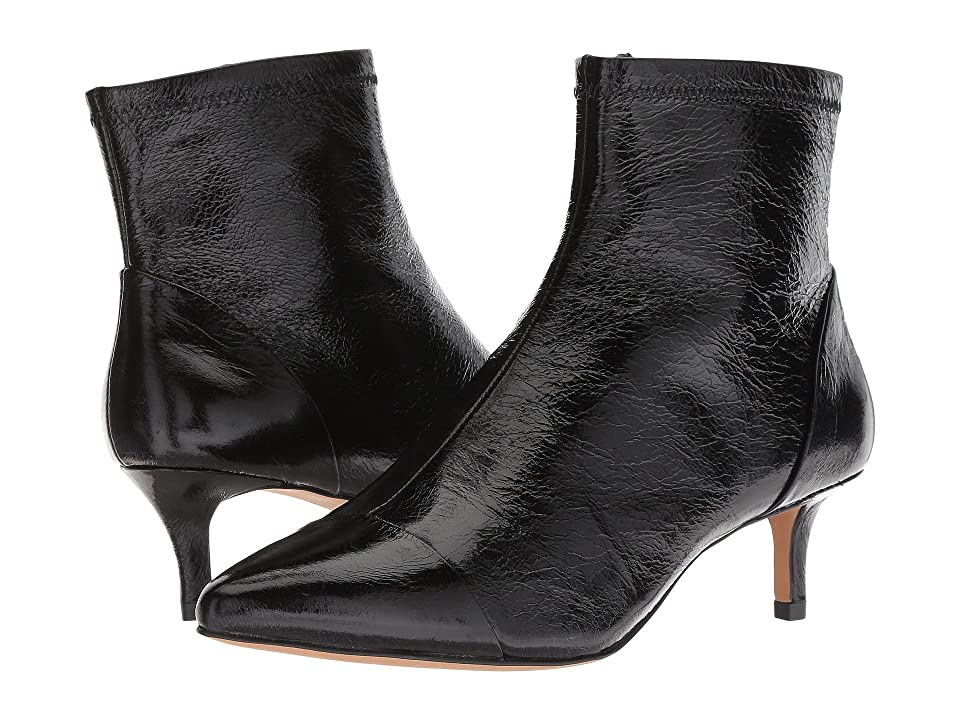 Rebecca Minkoff Siya (Black Shiny Leather) Women