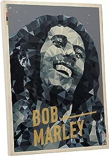 Pingo World 0127QD6R5P4 Bob Marley Pop Art Gallery Wrapped Canvas (20 x 16) 20