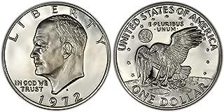 1972 S 40% Silver Ike Eisenhower Dollar Gem Proof Condition