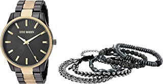 Best steve madden men's stainless steel watch Reviews