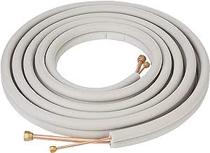 Senville 25 Ft. Copper Pipes for Mini Split Air Conditioner 1/2