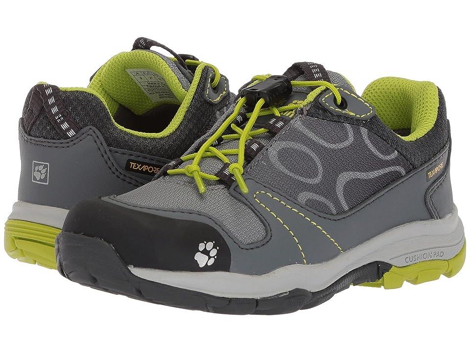 Jack Wolfskin Kids Akka Waterproof Low (Toddler/Little Kid/Big Kid) (Lime) Boys Shoes