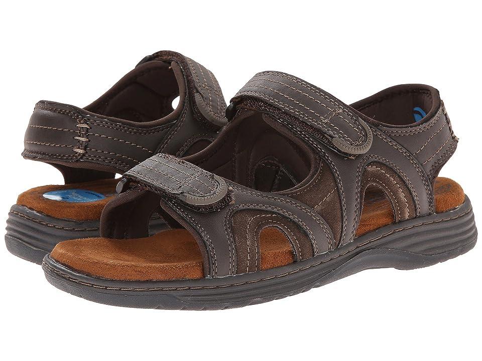 Nunn Bush Randall Two-Strap Sandal (Brown CH) Men