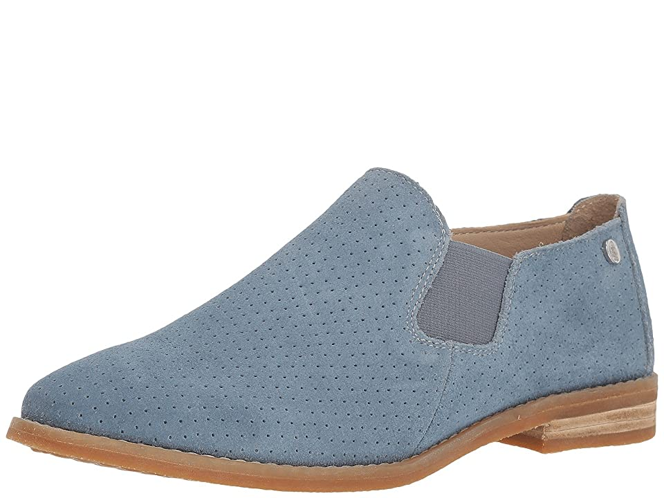 Hush Puppies Analise Clever (Vintage Indigo Perf Suede) Women