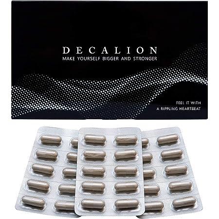 デカリオン DECALION 特許成分 バイオペリン シトルリン 亜鉛 アルギニン マカ オキソアミヂン 厳選した67種類のこだわり成分 濃縮配合 国内生産 90粒