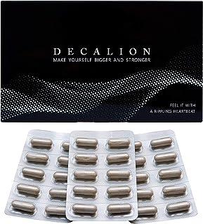 増大サプリ デカリオン DECALION 特許成分 バイオペリン シトルリン 亜鉛 アルギニン マカ オキソアミヂン 厳選した67種類のこだわり成分 濃縮配合 国内生産 90粒