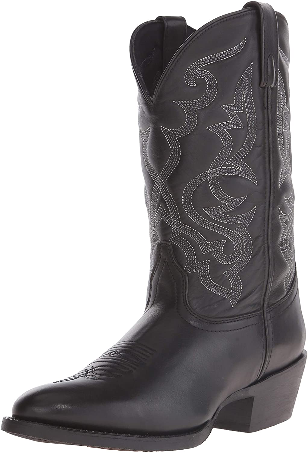 Laredo Womens Maddie New Charlotte Mall Shipping Free Round Toe Western Mid Boots Low Calf Cowboy