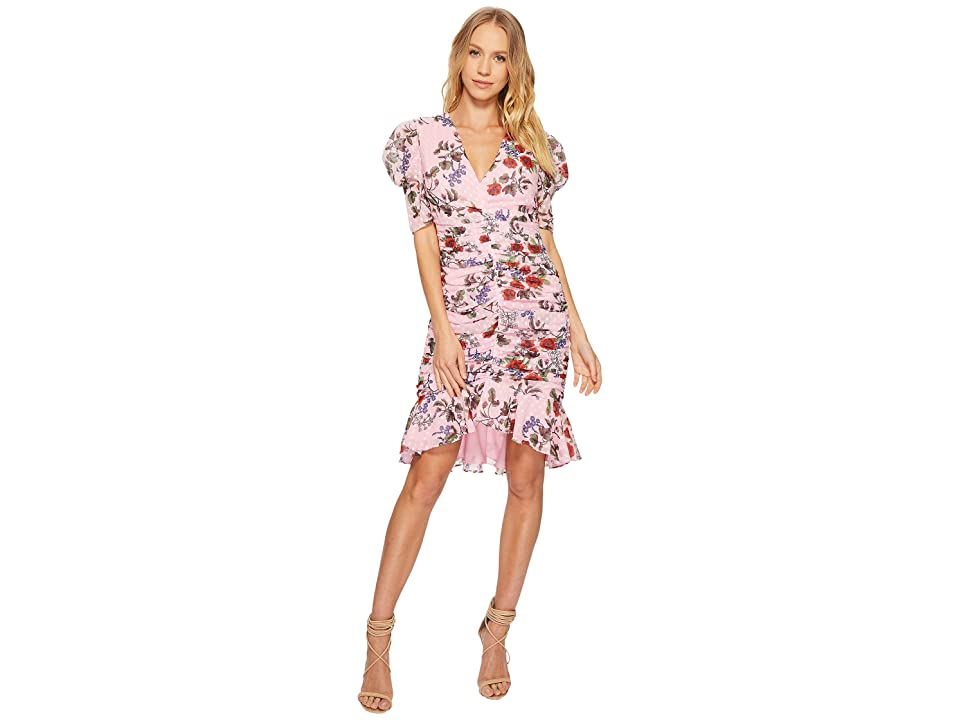KEEPSAKE THE LABEL Need You Now Mini Dress (Powder Pink Floral) Women