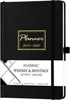 Clearance Sale! Planner 2019-2020 - Academic Weekly & Monthly Planner with Tabs, 5.75