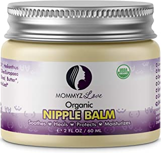 Best Nipple Cream for Breastfeeding Relief (2 oz) - Provides Immediate Relief To Sore, Dry And Cracked Nipples Even After ...