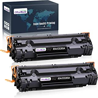 OfficeWorld Compatible Toner Cartridge Replacement for HP 85A CE285A 35A CB435A, Work with HP Laserjet Pro P1102w P1109w M...