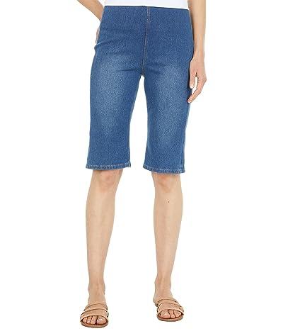 Lysse Boyfriend Knit Denim Shorts
