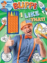 Blippi: I Like That!  Coloring Book with Crayons: Blippi Coloring Book with Crayons