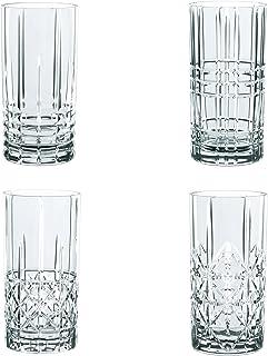 Spiegelau & Nachtmann, set med 4 delar, longdrinkset, kristallglas, 445 ml, Highland, 0097784-0