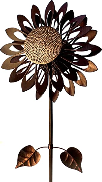 Southern Patio COS1900789 Sunflower Wind Spinner 73 Tall