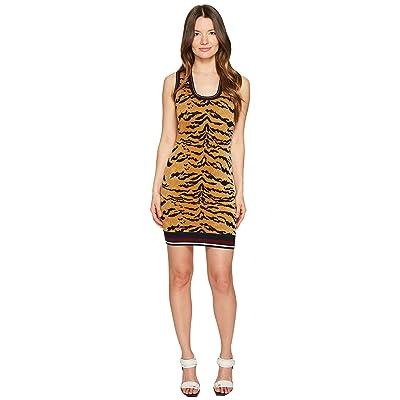 DSQUARED2 Animal Tank Dress (Tiger Print) Women