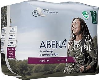 Abena Light Premium Incontinence Pad, Maxi 4A, 8 Count