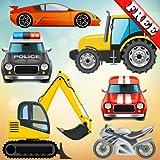 Fahrzeuge und Autos für Kleinkinder und Kinder: Spiel mit LKW, Traktoren und Spielzeug Autos! KOSTENLOS