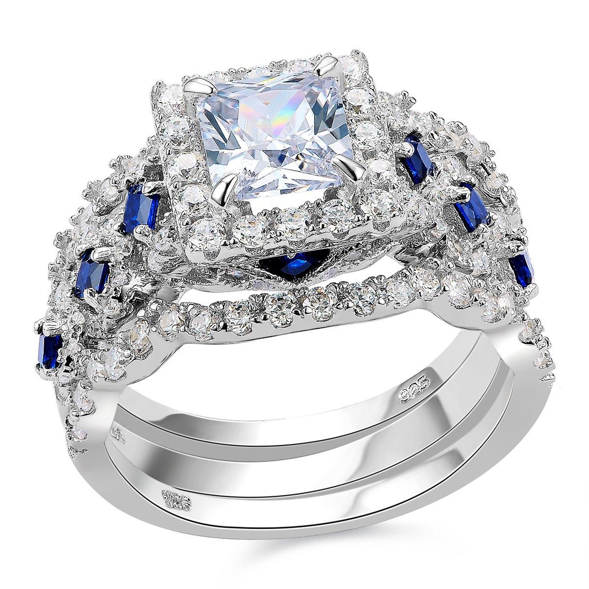 Newshe Engagement Wedding Sterling Princess