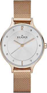Skagen Womens Quartz Watch, Analog Display and Stainless Steel Strap SKW2151