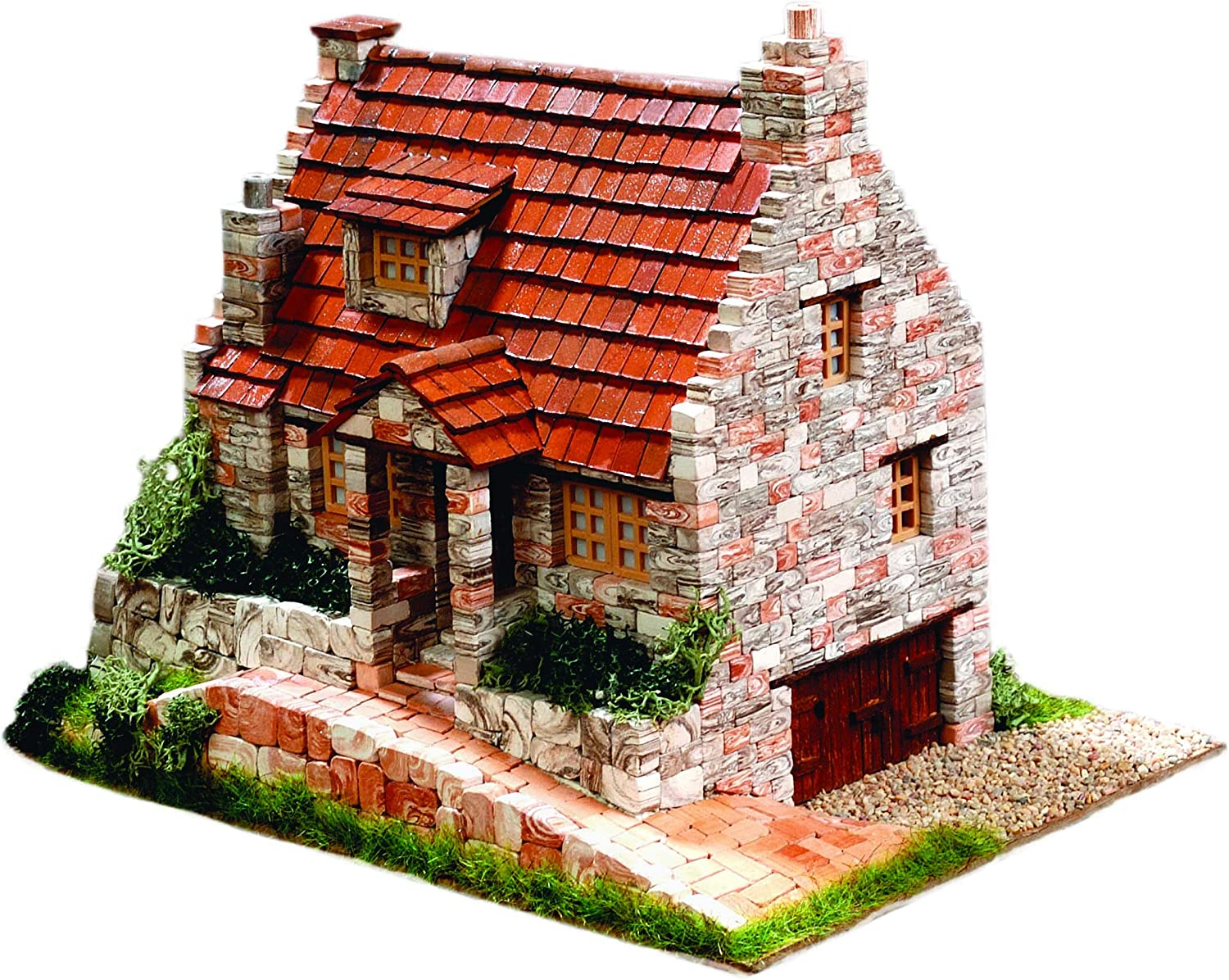CUIT Ceramic Max 50% OFF Building Construction Kit Max 59% OFF House 1:87 Old Cottage