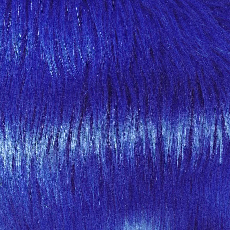Luxury Shag 60 Inch Fabric F.E. by Blue Charlotte Mall The Max 43% OFF Yard