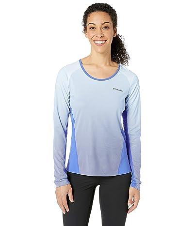 Columbia Solar Chilltm 2.0 Long Sleeve Shirt (Arctic Blue) Women