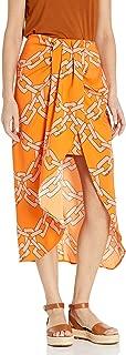 Women's Mornings Wrap Midi Skirt