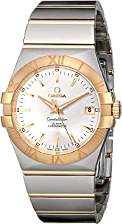 Omega Men's 123.20.35.20.02.002 Silver Dial Constellation Watch