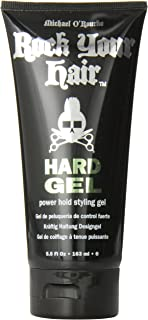 Michael O'rourke Rock Your Hair Hard Gel for Unisex, 5.5 Ounce