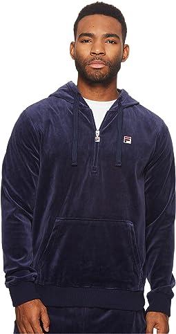 Velour Hoodie Jacket
